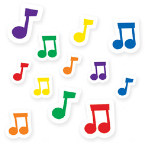 Teacher Reward Stickers | Musical Notes Kids Stickers for the Classroom