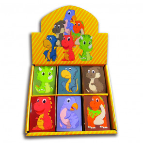 Class Gifts | Box set 48 x Cute Dinosaur Mini Notepads