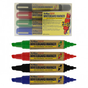 Whiteboard Markers | Artline 525T - Wallet Set 4 Pens