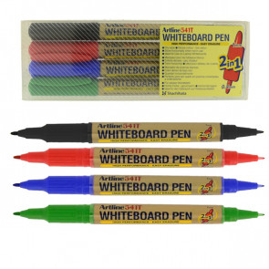 Whiteboard Markers | Artline 541T - Wallet Set 4 Pens
