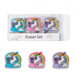 Unicorn Gifts | Unicorn Eraser Set.