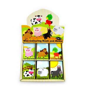 Bulk Stationery |  Small Farm Friends Animal Kids Notepads