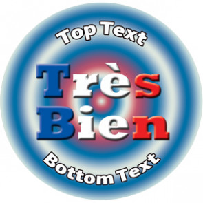 Personalised Stickers for Kids | Tres Bien - French Teacher Reward Designs to Customise for Teachers