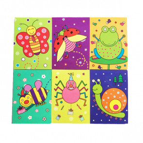 Pupil Gift | Small Cute Insect Notepads. Ideal End of Term Gift / Party Bag Filler