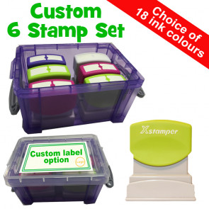 Teacher Personalised Stamp | Custom Teacher Stamps - Marking & Praise