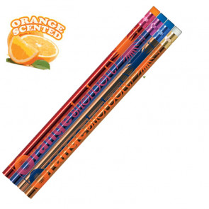 Smelly Pencils | Pack of 12 Orange Sherbert Pencils.
