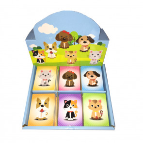 Low Cost Gifts | Retail Boxset Cute Pets (Kittens/Puppies) Notepads