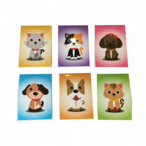 Class Gifts | Cute Pets (Dogs / Cats) Notepads x 12
