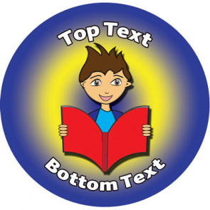 Personalised Stickers for Kids | Reading Reward Designs to Customise for Teachers