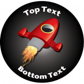 Personalised Stickers for Kids | Space Rocket Designs to Customise for Teachers