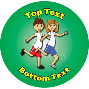 Personalised Stickers for Kids | Sports Designs to Customise for Teachers