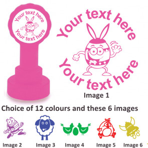 Custom Stamps | Easter Fun - Personalised Craft and Teacher Stamps