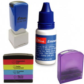 Teacher Stamps | Shiny / Stakz / Value Stamp / HS Stamp Refill ink