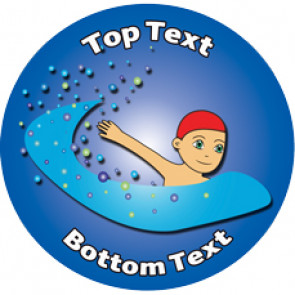 Personalised Stickers for Kids | Swimming Designs to Customise for Teachers