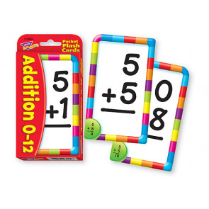 Educational Games for Children | Addition 0-12 Flash Cards for Schools and at Home