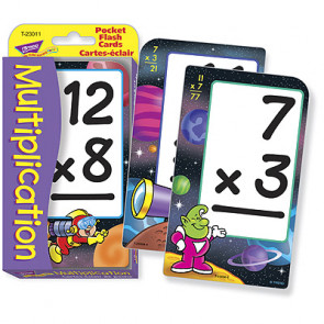 Educational Games for Children | Multiplication Flash Cards for Schools and at Home (French)