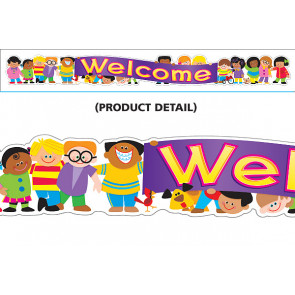 Classroom Display Banners | Welcome, Trend Kids Shaped Banner