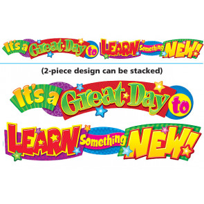Classroom Display Banner | It's a great day banner