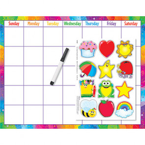 Reusable Wall Monthly Calendar Kit