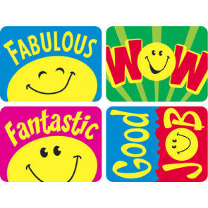 Reward Stickers | Smiley Faces School Stickers