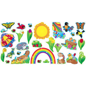Reusable Classroom Displays   Spring Things
