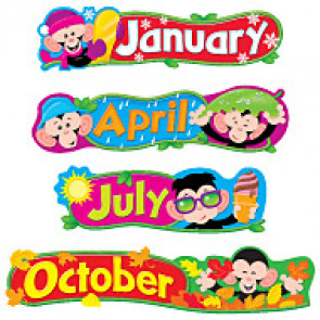 Classroom Display Resources | Monkey Month Headers
