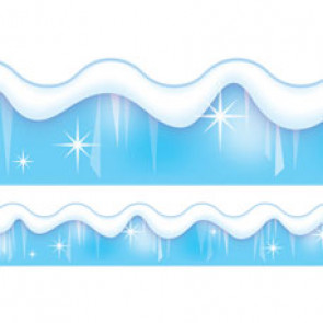 Display trimmers / borders | Snow and Ice Festive