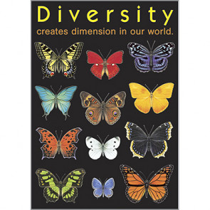 School Poster | Support Teaching of Diversity with this PSHE Poster - Ideal for Classrooms