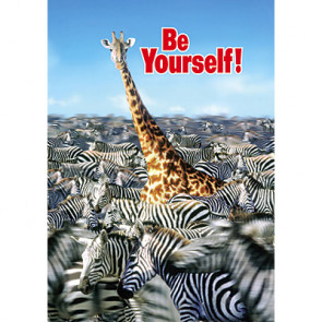 School Posters | Be yourself! PSHE Wall Posters