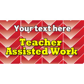 Teacher Personalised Marking Stickers | Teacher Assisted Work Sticker to Customise