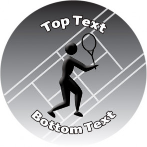 Personalised Stickers for Kids | Tennis Sports Stickers to Customise