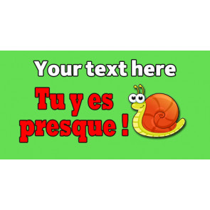Personalised Stickers for Teachers | Tu y es presque! Marking Sticker to Customise