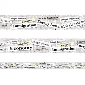 Classroom Display Borders | Headlines In the News Trimmers