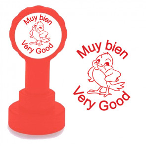 Teacher Stamp | Muy bien / Very Good Spanish Teacher Stamp
