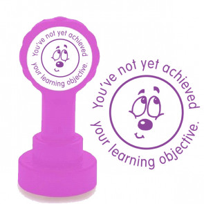 Teacher Stamp | You've not yet achieved your learning objective School Stamps