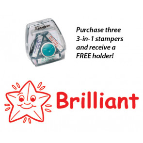 Brillant 3-in-1 Stamper Stamper Set