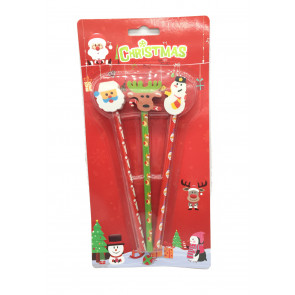 Christmas Stationery | Christmas Topper Pencils Presentation Pack