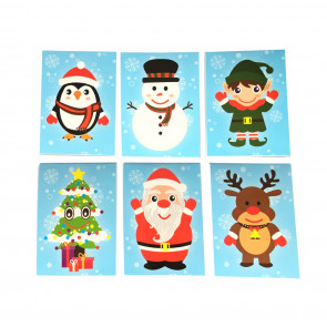 Christmas Gifts | Cute Christmas Notepads x 12 Small.
