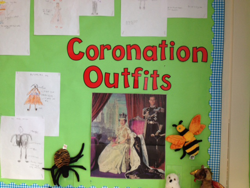 Class Lettering - Coronation Display