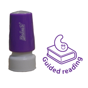 New Teacher School Marking Stamp - Guided Reading