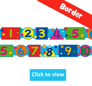 Maths Borders for Classroom Displays
