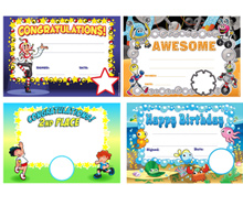 School Custom Logo Certificate Awards