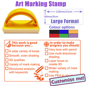 New marking & assessment self-inking stamp for Art - Teacher Stamps