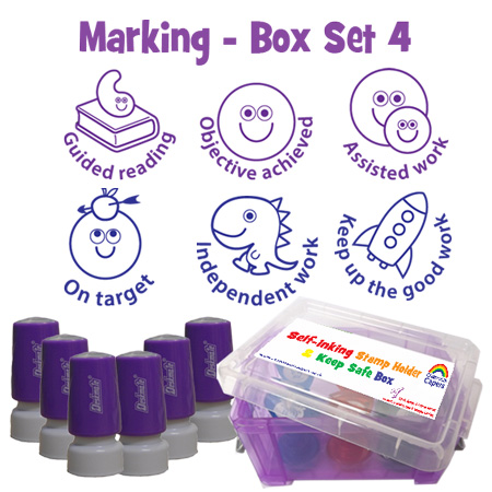 Deskmate Teacher Spamp Box Set
