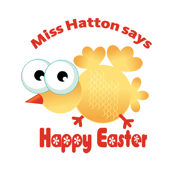 Custom stickers - New Easter Crazy Chick designs