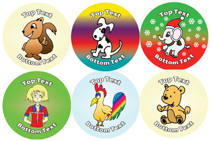 Personalised stickers - Raising money for Children in Need
