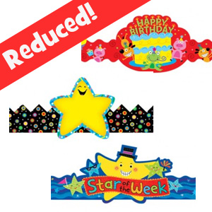 Kids Paper Crowns Reduced!