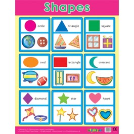 Reception Classroom Posers - Basic Shapes
