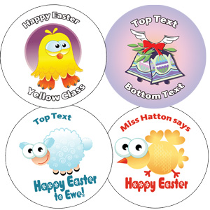 Custom stickers - New Easter designs
