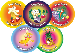 healthy selection stickers